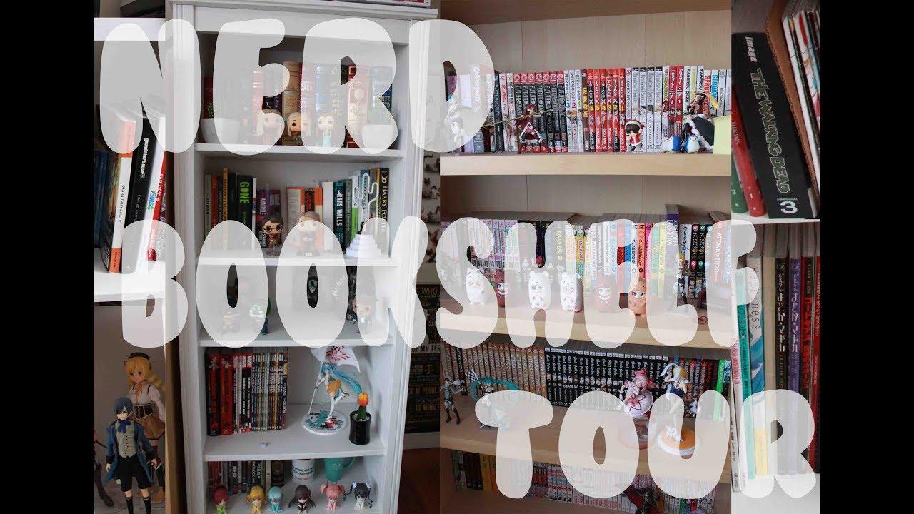 NERD BOOKSHELF TOUR