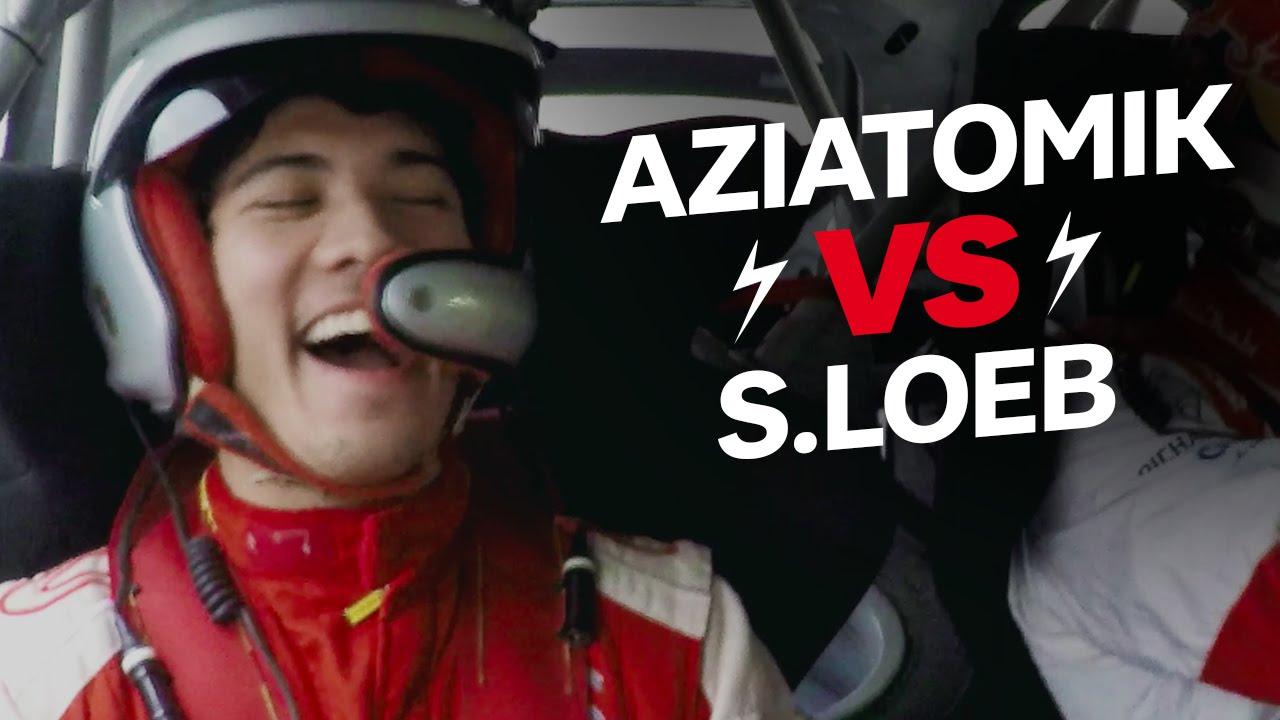 AZIATOMIK passe son permis avec Sebastien Loeb (feat. PAT LA REAL)