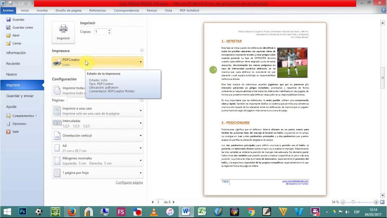 como convertir un archivo word en pdf