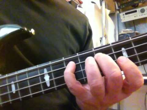 We Got to Get Out of This Place - bass tutorial for beginners - YouTube