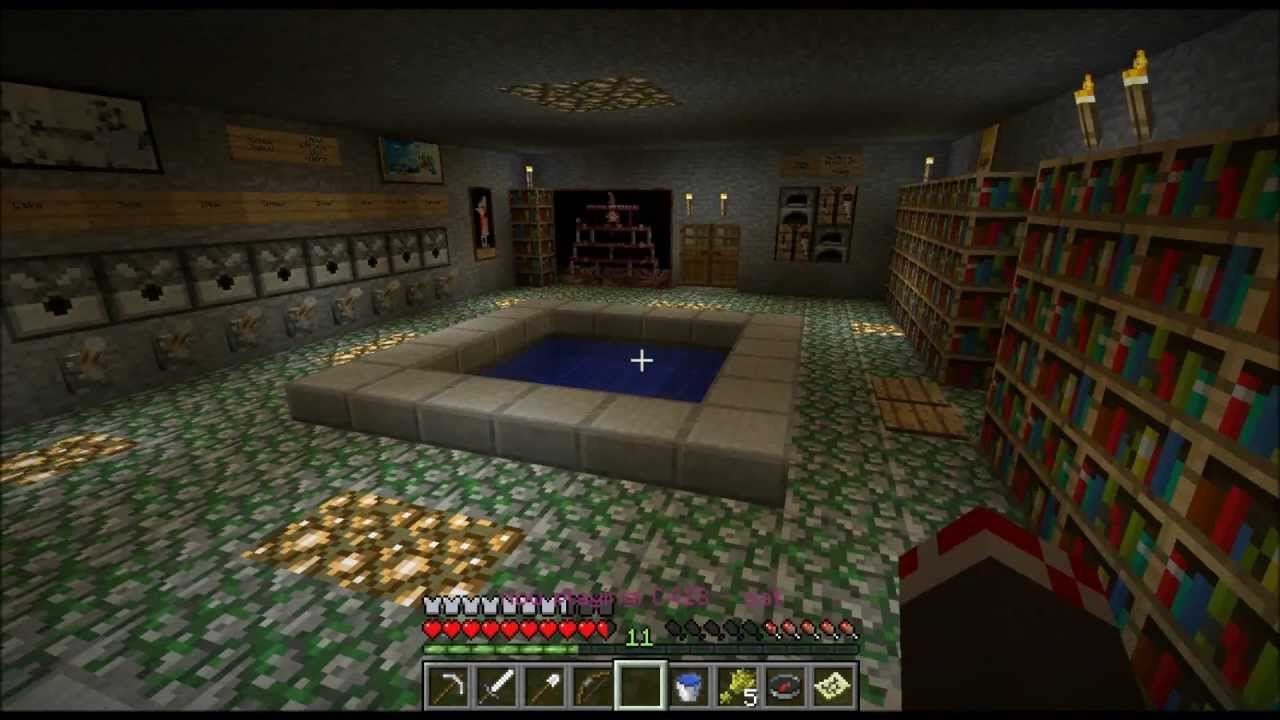 Epic Minecraft Home Ideas And Tour (commentary) - YouTube