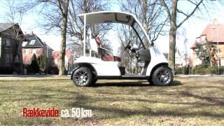 Garia....verdens mest eksklusive golfbil