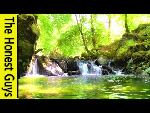 4 HOURS Relaxing Music with Water Sounds Meditation