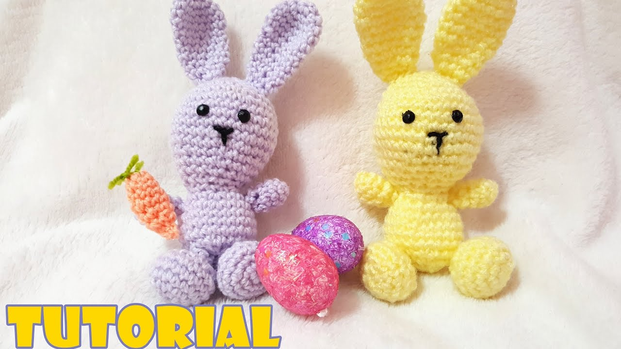 Tutorial Amigurumi Annarellagioielli : Tutorial coniglietto amigurumi all uncinetto crochet rabbit
