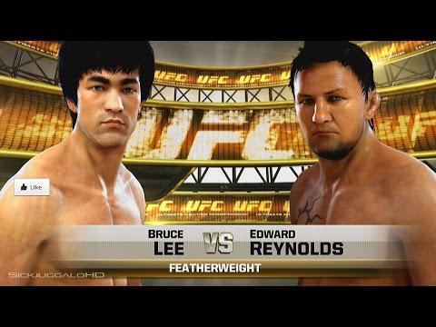 Bruce Lee Vs Edward Reynolds - EA Sports UFC Xbox One Gameplay W/ SICK Featherweight RM
