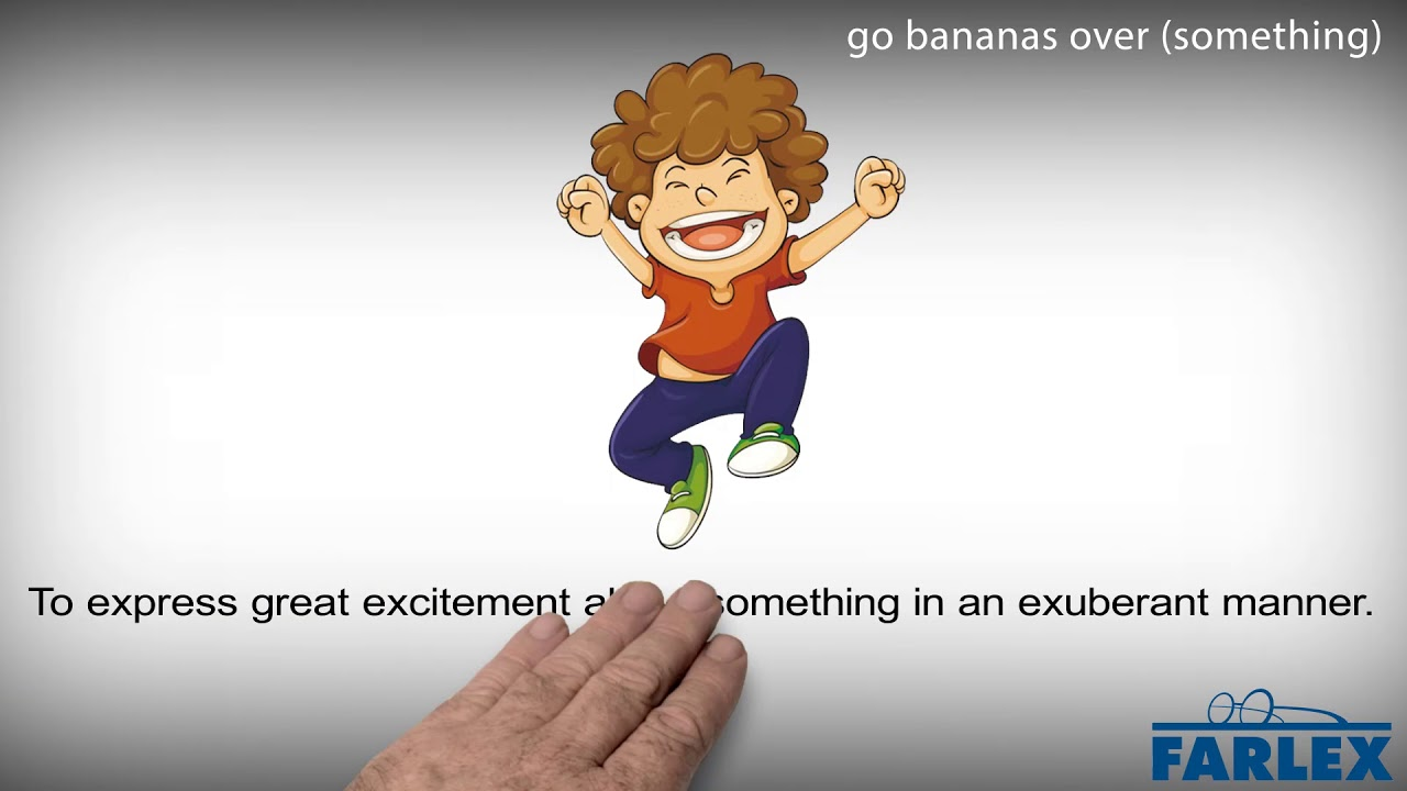 I go bananas over meaning