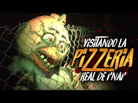 VISITANDO LA PIZZERÍA REAL DE FIVE NIGHTS AT FREDDY'S | Fright Dome Walk-thru FNAF