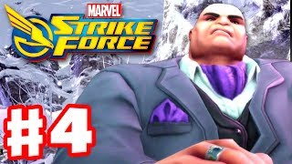 Marvel Strike Force - Gameplay Walkthrough Part 4 - Kingpin and Villains United!