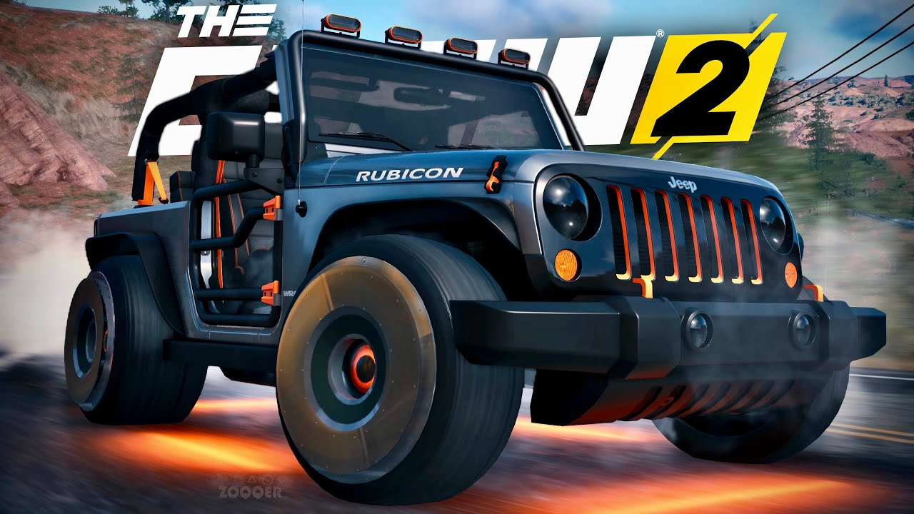 Über 1000 PS JEEP WRANGLER Pioneer Edition Tuning - The Crew 2