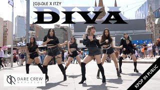 Download [KPOP IN PUBLIC] (G)I-DLE X ITZY - DIVA (2019 MBC가요대제전 Collab) by DARE X Vive Australia