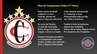 Baixar Hino do Campinense Clube ( PB ) | 1º HINO