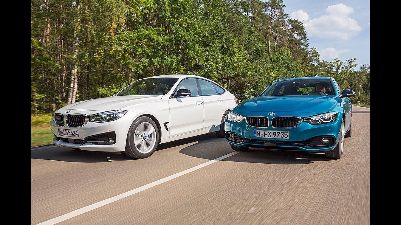 2019 Bmw 3 Series Gt Vs 2019 Bmw 4 Series Gran Coupe