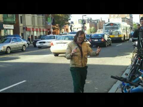 Amazing Homeless Man Singing Outside of Berklee College of Music