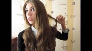 причёска-локоны утюжком