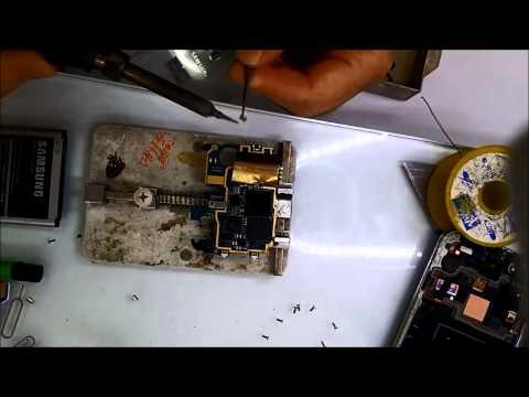 Samsung Galaxy S4 Reset Atma Problemi(Power Switch Değişimi)
