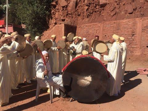 Marrakech to Ait Benhaddou (Ourzazate) Morocco, Amazing Drive