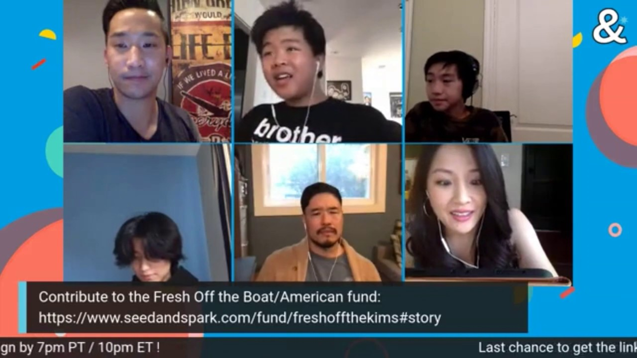 Download The cast of FRESH OFF THE BOAT meets to read the Pilot episode