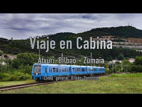 Viaje en Cabina - Bilbao-Zumaia | EuskoTren