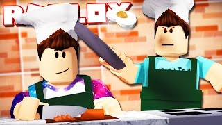 THE DENIS & ALEX COOKING SHOW IN ROBLOX!