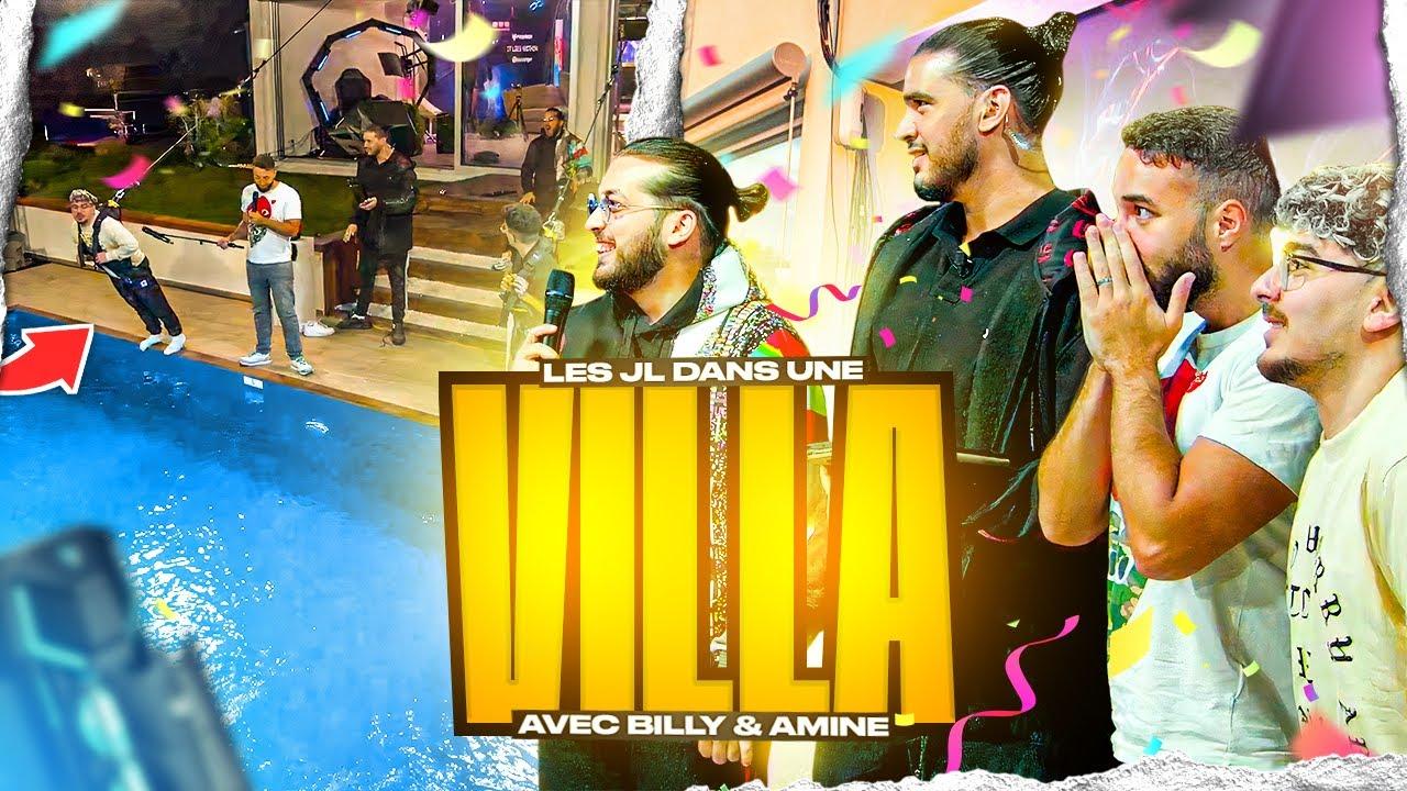 Download LES JL DANS UNE VILLA AVEC BILLY & AMINE ! 💥 BEST OF JL #38