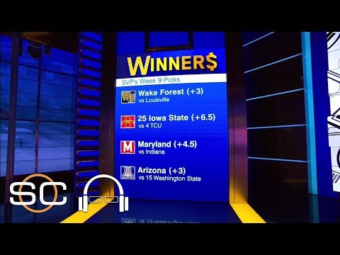 SVP picks his 8 winners for college football   SC with SVP   ESPN