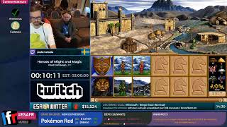 Heroes of Might and Magic II: The Price of Loyalty en 2:24:41 (Good Campaign) [ESAW18 Restream FR]