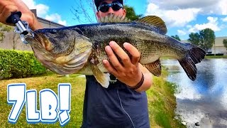 new personal best largemouth bass caught on lew s fishing rod and reel