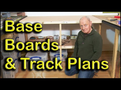 Baseboards construction and model railway track plans at Chadwick Model Railway | 83.