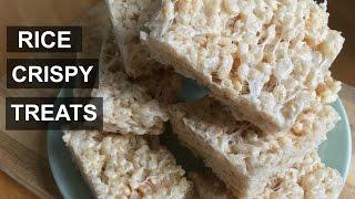 Rice Crispy Treats || Vegan