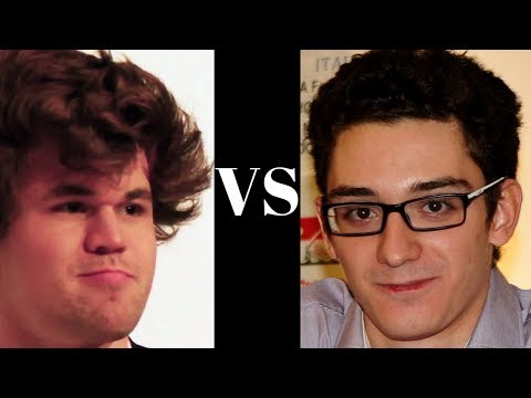 How to powerfully sacrifice the exchange! : Magnus Carlsen vs Fabiano Caruana : Zurich 2014