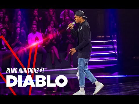 "Diablo ""Baby"" - Blind Auditions #1 - TVOI 2019"