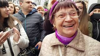 Самвел и мама Встреча со зрителями в Харькове