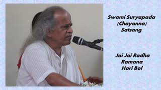 Jai Jai Radha Ramana Hari Bol | Art of Living Bhajan | by Swami Suryapada