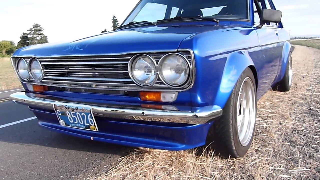Sounds of a Sleeper - Supercharged V6 Datsun 510