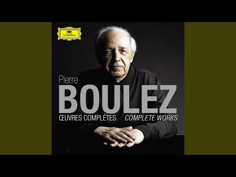 Boulez: Une page d'éphémeride