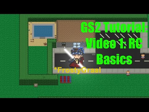 HOW to script in Graal Online Classic Player Worlds GS2 Tutorial: 1