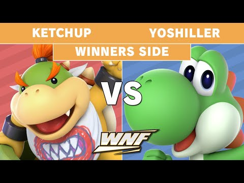 WNF 3.13 - Ketchup (Bowser Jr) Vs. Yoshiller (Yoshi) Winners Side - Smash Ultimate