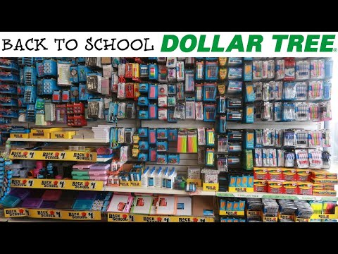 DOLLAR TREE *NEW BACK TO SCHOOL ITEMS/ COME WITH ME