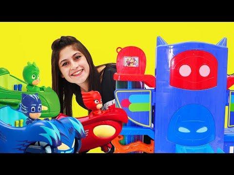 PJ Masks oyuncaklarının karargahı! Oyuncak TANITIMI.