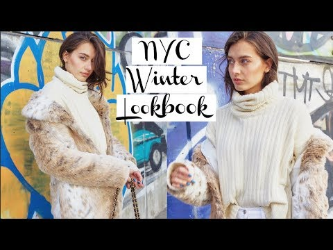 NYC Winter Lookbook 2018 | Jessica Clements