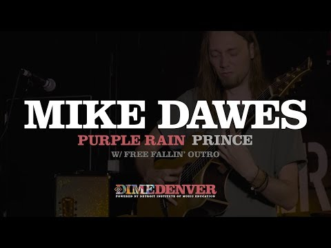 Purple Rain - Prince (Mike Dawes Cover) & Free Fallin' (Tom Petty) Outro
