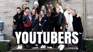a christmas sleepover with 30 youtubers in a mansion simply grace