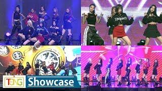 Weki Meki(위키미키) 'Crush' & 'True Valentine' Showcase Stage (KISS, KICKS, 최유정, 김도연, Doyeon, YooJung)