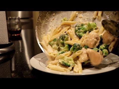 Manny Cooks Chicken & Broccoli Penne Pasta
