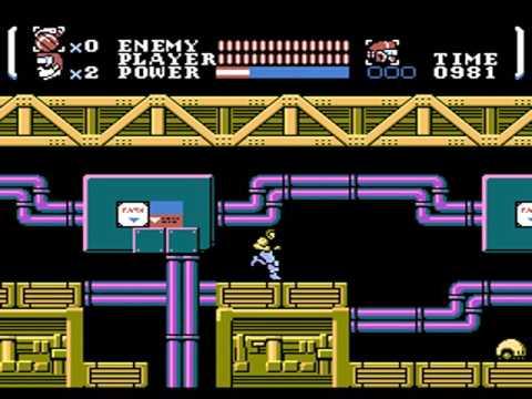 Power Blade (USA) - Nintendo Entertainment System / Famicom (NTSC) [MESS] [shortplay]