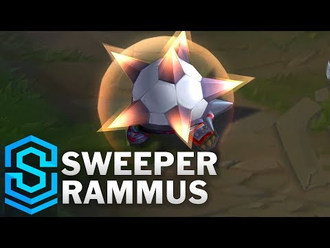 Sweeper Rammus Skin Spotlight - League of Legends