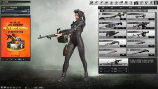Counter strike Online 2 charactor and weapons.