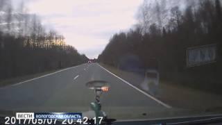 Смертельное ДТП на трассе попало на видеорегистратор