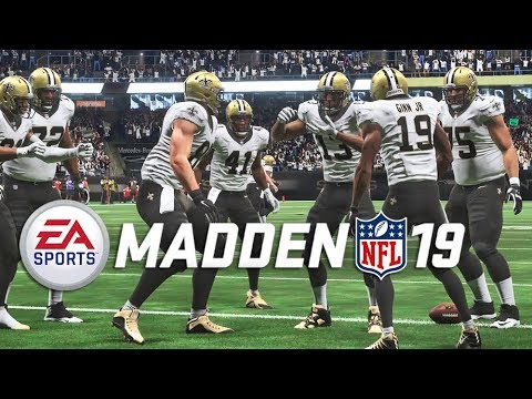 Madden 19 Gameplay! Saints vs. Panthers FULL GAME