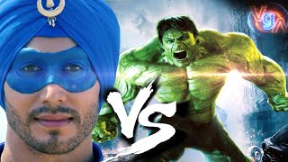 HUlk Vs Flying Jatt, Krrish & G.one